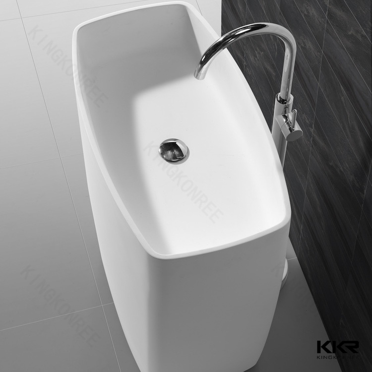 non-porous surface material washbasin, solid surface washbasin