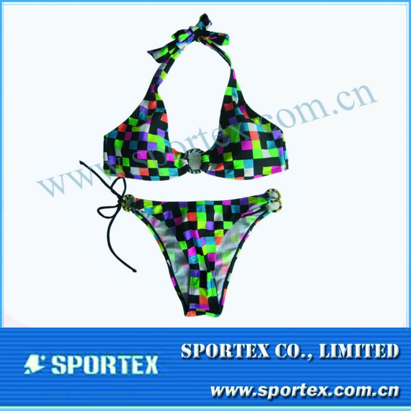 2013 hot selling fashion ladies bikini/Thong bikini/brazilian type bikini