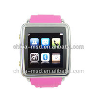 2013 new product,New arrival deisign smart bluetooth phone watch for Android/Iphone