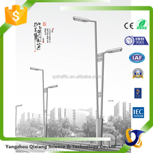 aluminum light pole electric pole price galvanized street lighting pole 8m