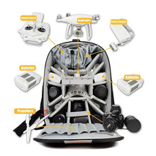 Multi Function Waterproof Universal UAV Drones Backpack Case For Quadcopter Drone and Canon, Nikon,Sony,Olympus,DSLR SLR Cameras