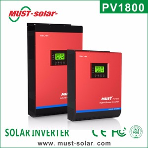 <Must Solar>High frequency 3 phase off grid solar inverter 4kva/5kva *3pcs 50A PWM/60A MPPT controller solar inverter