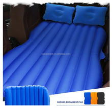 2015 new design PVC flocking inflatable air mattress,best selling inflatable car back seat mattres