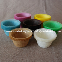 disposable silicone round baking paper cup