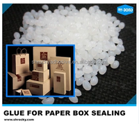 PVC PET clear packaging box usage hot melt adhesive glue
