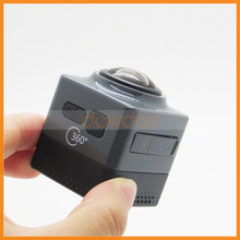 Cube 360 Mini Sports Action Camera Panoramic Shot Sports Camera with WiFi Support up to 32GB Memory Card