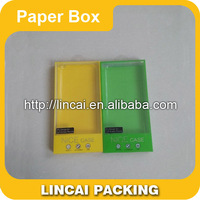 Durable and recycled Custom mobile phone case packaging plastic mobile phone package