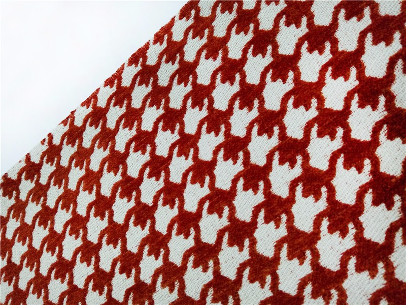 Multi-colors chenille fabric for pillow