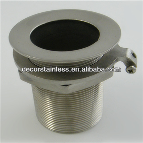 Stainless steel thru hull boat fittings marine hardware