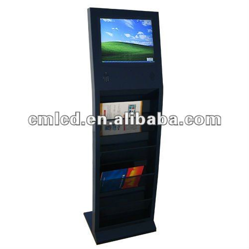 interactive digital signage kiosk17 inch(all in one quality and support,aspect ration 4:3,1280 x 1024 optimal A+lcd panel)