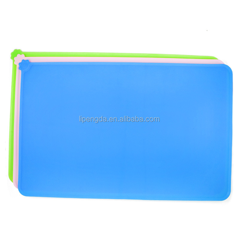 Silicone High Quality Pet Food Pad Mat For Dog Cat Pets