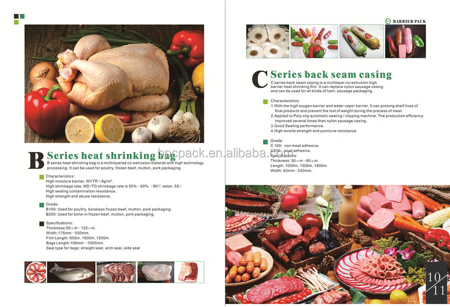 poultry shrink bags