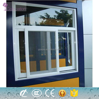 Safety powder coated aluminum small sliding windows