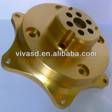 Car wheel hub made from billet aluminum, Custom Car and Truck Accessories parts