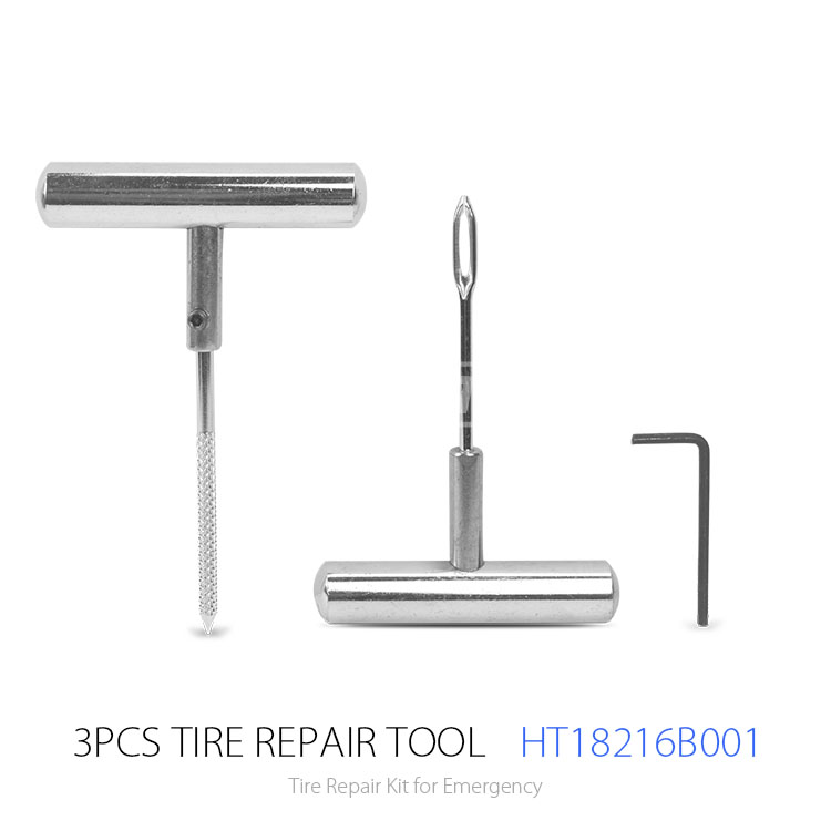 High Quality Tire Puncture Repair Kit Hand Tool Tubeless Tire Repair Kit for Bicycle and Motorcycle