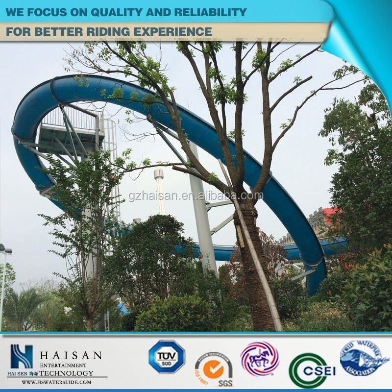 oem popular high speed water slides manufacturers in china