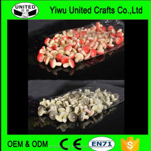 50PCS Artificial Mini Mushrooms Fake Vegetable Party Home Decor Teaching Props