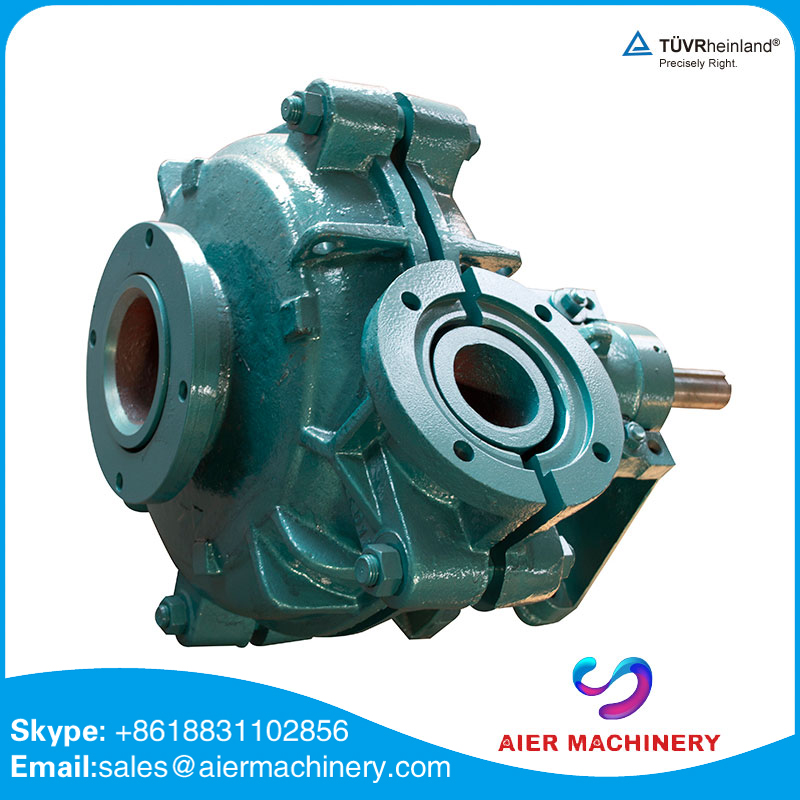 heavy duty Cr26 rubber liner centrifugal pumps