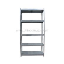 5 tire metal storage light duty rack used commercial shelving