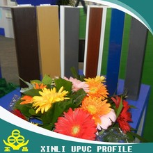 Plastic extrusion companies custom UPVC/PVC plastic profile for window