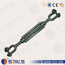 standard din1480 black iron turnbuckle