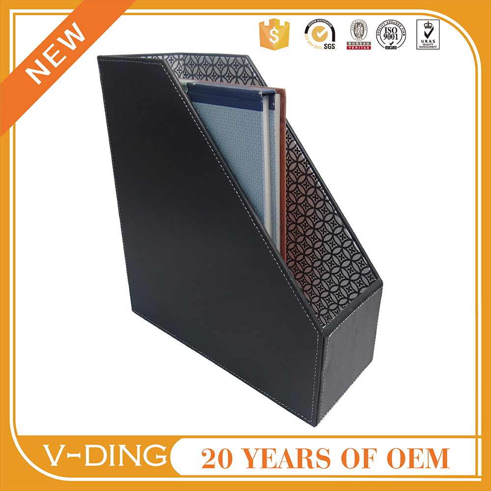 vding from china supplier new best sell products suitable for Desktop office supplies leather box file