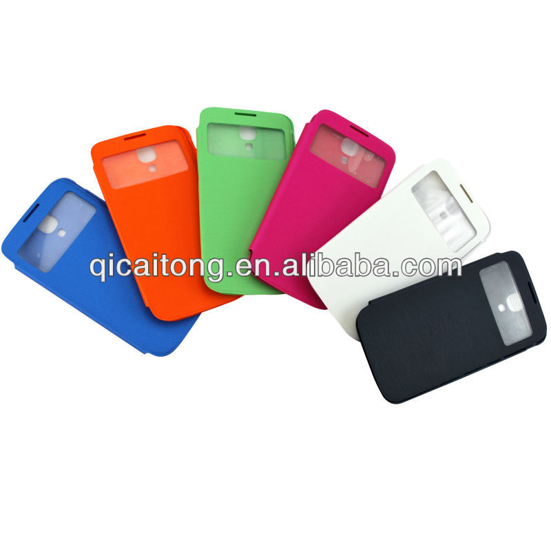 Battery cover leather case for samsung galaxy S3 i9300