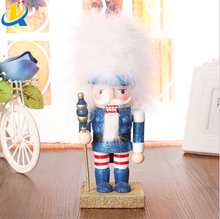 Hot selling decoration Christmas gift wooden handmade nutcracker