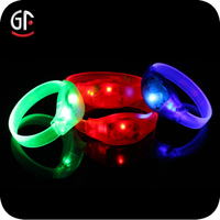 Christmas Decoration Promotional Flashing Led Wristband