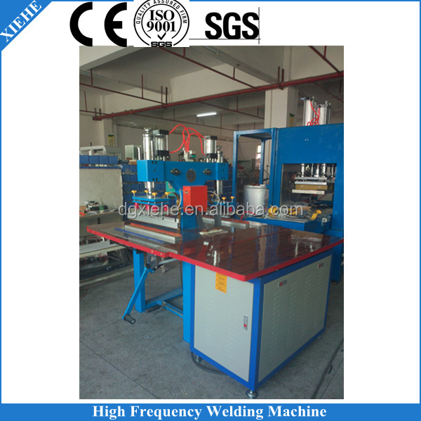 Air Pressure Pedal Type PVC Ceiling Fabric Sealing Machine High Frequency/RF Stretched Film Welding
