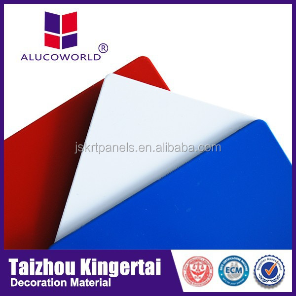 Factory offering Alucoworld Composite Panel Similar to Displayed Pictures aluminum sandwich panel roofing