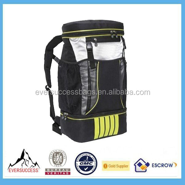 2015 New Design Triathlon Transition Bag With Waterproof Compartment and shoes Compartment