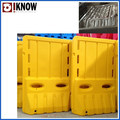 blow mould for road barrier