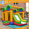 Cartoon theme inflatable obstacle courses bouncer, inflatable house bouncer