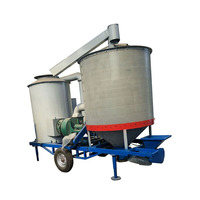 farm machine 1.5T mobile grain dryer price