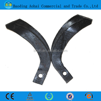 Hand tiller blades/tiller cutting blades for sale