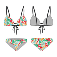 (Trade Assurance) new arrival cheap colourful bikini beachwear swimwear for mature women