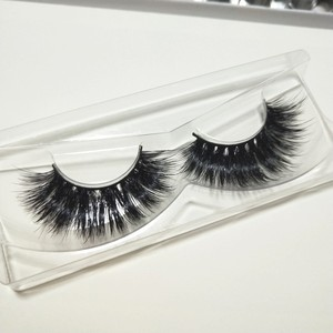 Handmade Real Natural Mink Hair Soft Eye Lash False Eyelashes Eyelash Extension 3D Mink Lashes Vendors