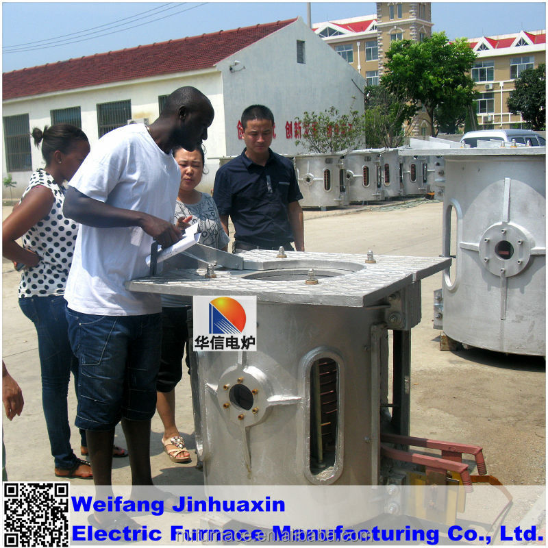 Aluminium scrap melting furnace to Aluminum ingot