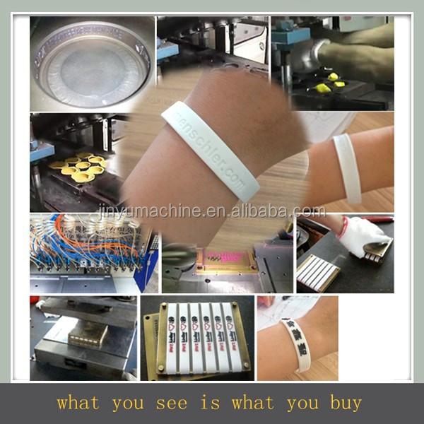 silicone wristband machine