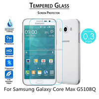 9H Tempered Glass Screen Protector For Samsung Galaxy Core Max G5108Q Tempered Glass Screen Film
