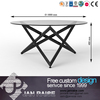 Custom welcome modern design small glass coffee table without wheels