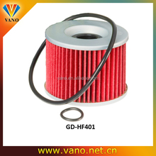 Oil filters, motorcycle pleated paper filter 15410-422-000