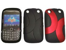 Cellular Phone TPU Combo Cover Cases For Blackberry 9320 9220 Curve