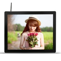 "19"" Android Signages, Wifi LCD Player, Digital Touch Screen Monitor"