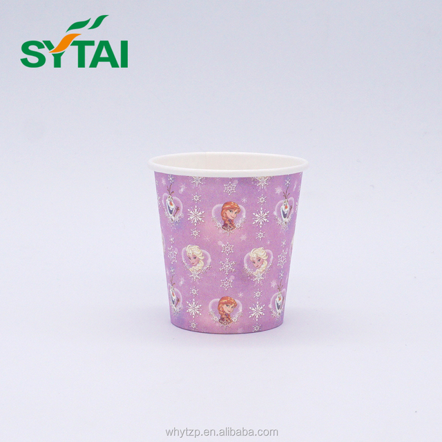 Mini disposable customized designs biodegrad hot cold paper cups
