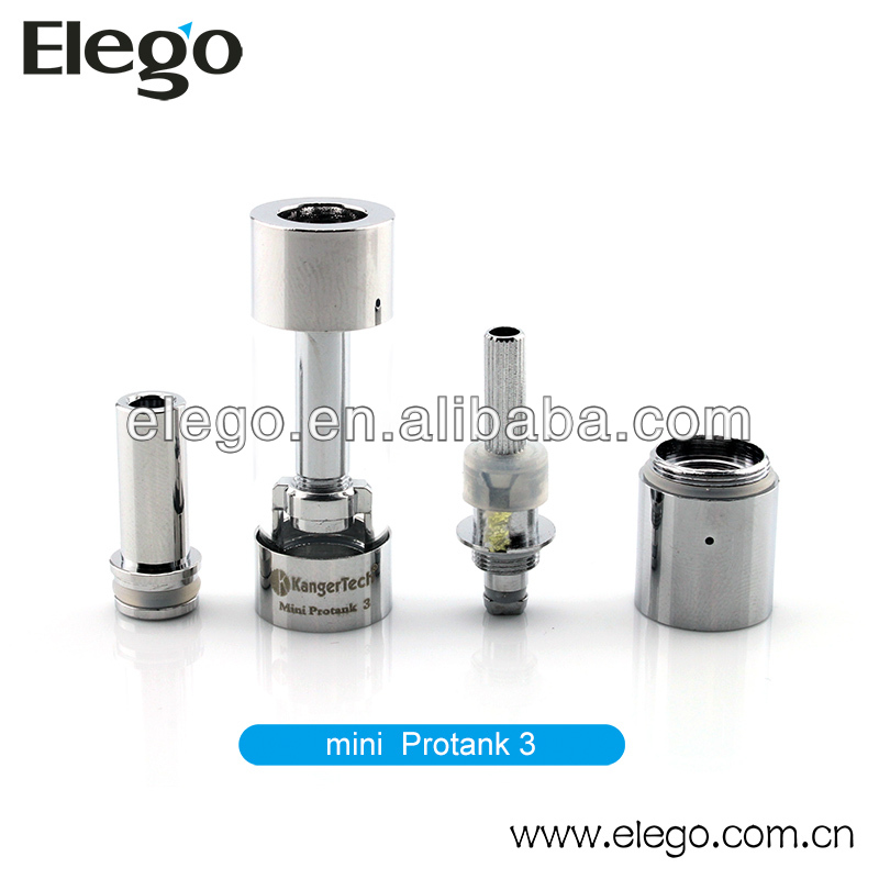 100% Kanger mini protank 3 clearomizer wholesale pyrex glass atomizer