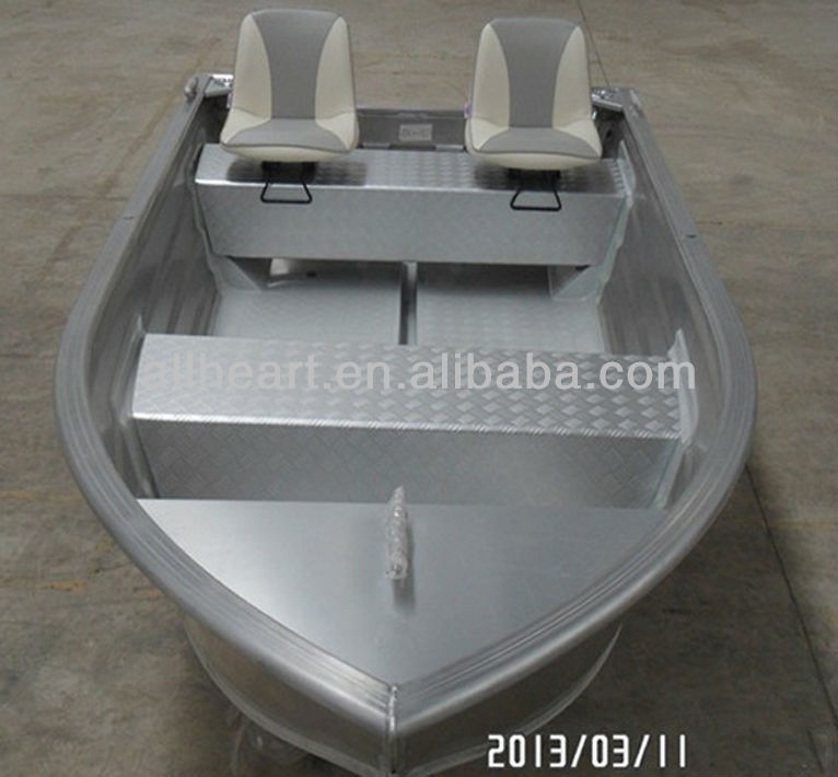 12ft all welded aluminum boat for fishing