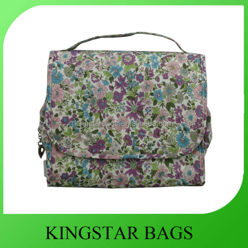 Printed toiletry bag travel accessory