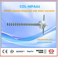 MMDS antenna integrated with down converter ,frequency converter COL-MPA02